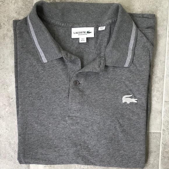 quality design e8bd3 ed639 Men's Lacoste Polo Size XL